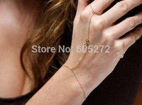 super thin chain bracelet. infinity charms, sexy alloy finger bracelets