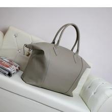 Schulter big bag große Kapazität echtem Leder Frauen Handtasche Messenger/Umhängetasche hohe Qualität(China (Mainland))