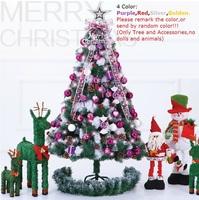 180cm/5.9Feet Christmas tree bundle luxury encryption christmas tree Christmas decoration 10/24/009