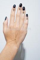 simple sexy alloy finger bracelets