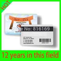 Free shipping to USA by UPS 1000PCS Customized Card membership card Printable PVC Card