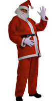 High Quality Christmas Costumes Set For Adult American Santa Claus Clothes Set New year Costumes Men Free Shipping
