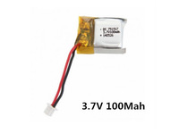 3.7V 100Mah Battery CX-10-002 Spare Parts For Mini CX-10 Wltoys V272 V282 V292 JXD JD395 4CH Remote Control RC Helicopter