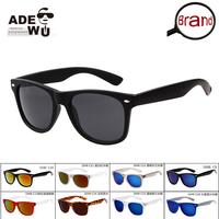 Great Quality Brand Wayfarer Sunglasses Men All Matching Flash Sun Glasses lentes de sol oculos Black Sunglass