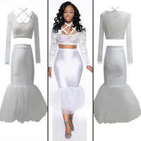 2014 European American Skinny Lace Nightclub Dresses Super Sexy Fashionable Package Hip Party White Women Dress Free Shipping