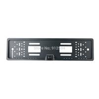 EU Car License Plate Frame  rearview Camera Infrared LED Lights Night vision waterproof metal housing
