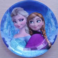 183pcs/lot Frozen Dinnerware Sets Frozen Cartoon Paper Tableware,Party Decor Paper Products,Frozen Plates And Cups Set