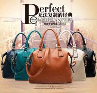 new arrival fashion lady messenger bag genuine leather women brand handbag tote cross-body bag vintage woman shoulder bag 1024B