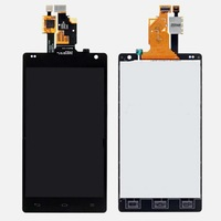 Original OEM Full LCD Display + Touch Screen Digitizer Assembly For LG Optimus G E970 black free shipping