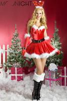 Christmas Costume Christmas Dress Christmas costumes for women, Velvet Santa Costume Cheaper price Free Shipping