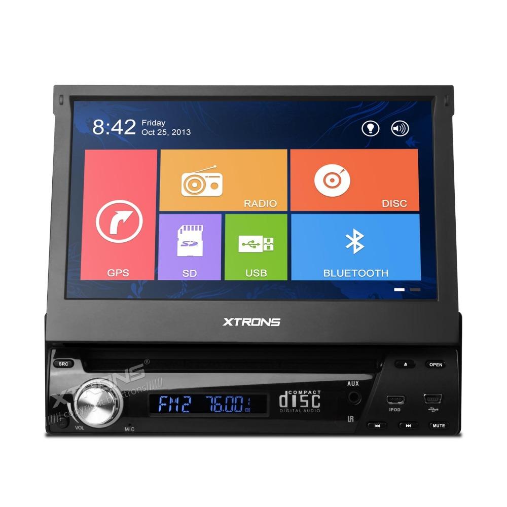 "XTRONS 7"" Single 1 DIN Car DVD Player autoradio GPS WIN8 UI Touch"