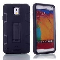 New 3 pieces combo phone Case Silicone Hard Cover For Samsung Galaxy Note 3 Good Quality Free Shipping