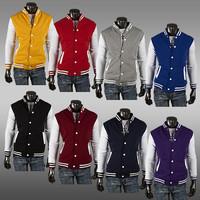 2014 Free shipping  Hot Men's Jacket Baseball Fashion Jackets,Basketball Jackets   8color   size M-XXL