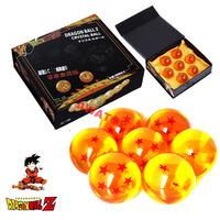 7 ball/set big size 4.5cm dragon ball dragonball z action figure crystal balls New in box