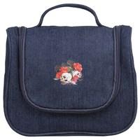 VEEVAN 2014 new cosmetic bag fashion makeup bag skull women handbag clutch purse women tote bag make up cases