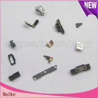 13 in 1 middle frame set  Button Bracket holder Connector Small Parts For Iphone 4S 4GS 100% Guarantee Free shipping