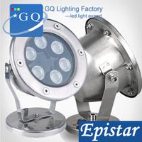 2pcs 3w 5w 6w 7w 9w 12W 15w 18w 24w 36w free shipping IP 68 single color led Underwater Light led outdoor light  bulb