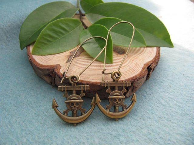 Серьги висячие Vintage style 2pairs /lot charm earrings серьги висячие vintage style pentacle earrings