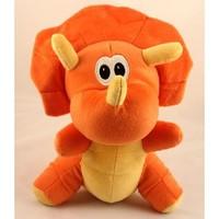 Lovely Stuffed Plush Triceratops Dinosaur Toy Doll Gift