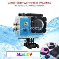 5pcs/lot Original SJ4000 WiFi Camera Diving 30M Waterproof Camera 1080P Full HD Helmet Underwater Cameras Car DVRs Gopro