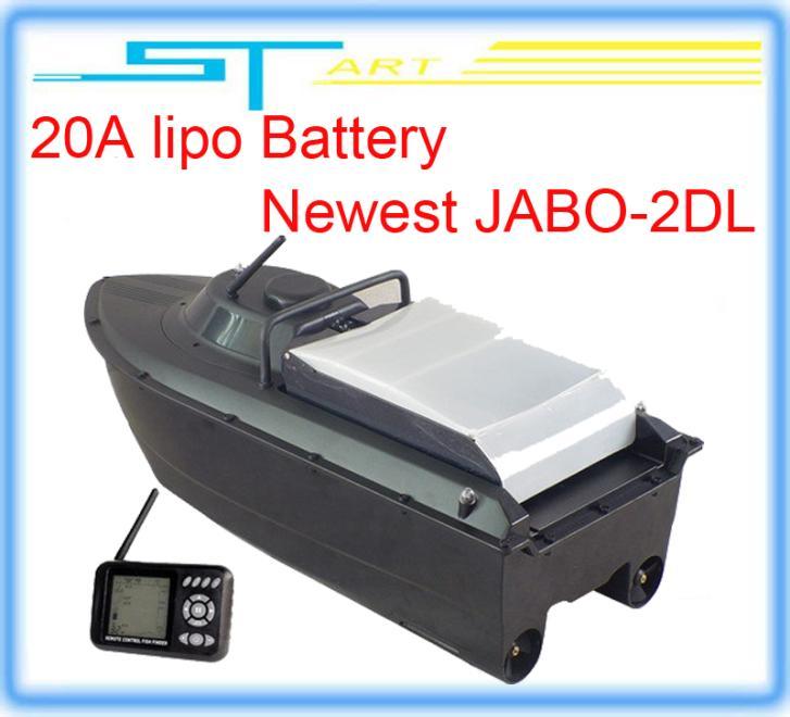 5pcs/lot JABO-2DL jabo 2DL remote control rc Bait Boat sWith Fish Finder Backward turning Spot turning upgraded 2 hot selling(China (Mainland))