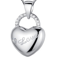 Min order is $5 (mix order) Free shipping! 2014 New style Lover cutout heart charms 925 silver jewelry charms