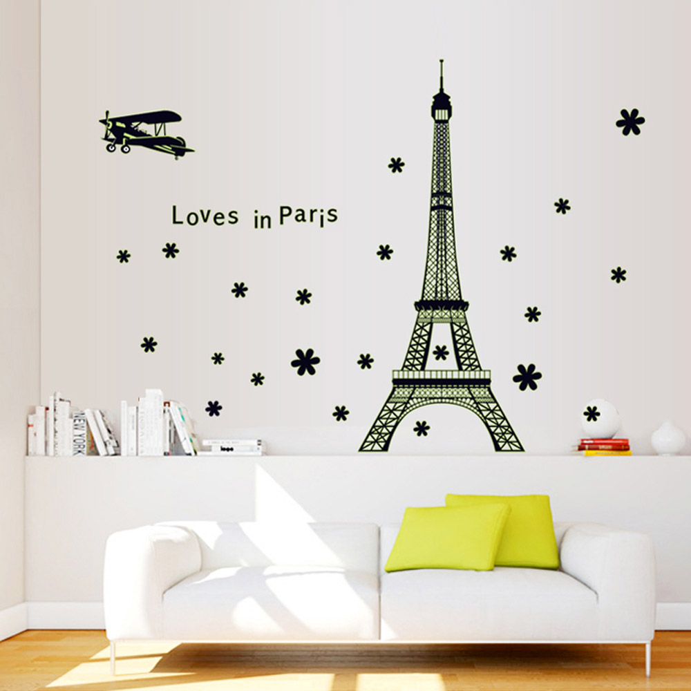 Inspiration Chambre Bebe Bleu : stickers glow in the dark Picture  More Detailed Picture about Eiffel
