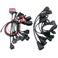 Full Set 8pcs Car Cables and Full Set 8pcs Truck Cables Diagnostic Interface for Tcs Cdp Pro Plus
