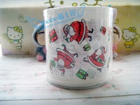 Merry Christmas Cartoon Red Santa Claus Personalized toilet paper  multicolour print toilet paper circle paper christmas gift