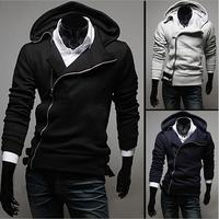 Men's 2014 new Korean fashion casual mens hoodies and sweatshirts jacket men cardigan sweater Slim