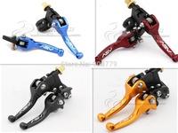 Free Shipping Brand New Motorcycle dirt bike/pit bike folding clutch brake levers