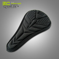 3D Lycra Silica gel MTB Seat Cover Road Bike Super Soft Saddle Breathable Comfortable Cushion Bicycle Accessories