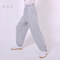 Milk silk shadowboxed hypertensiveperson pants magnitudes clothing pants male Women pants bloomers exercise pants