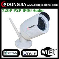 DONGJIA PSIA ONVIF P2P with audio camera home surveillance outdoor night vision mini cctv security WIFI wireless IP camera