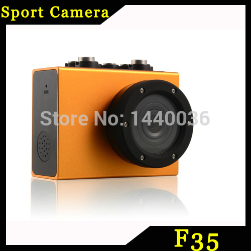 10pcs F35 Sport Camera Waterproof Camera Action Camera Gopro style Waterproof Sport Action Helmet Camera Cam DVR(China (Mainland))