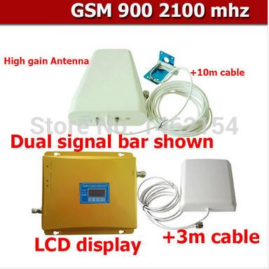 Усилитель сигнала для мобильных телефонов Signal Booster GSM 900 3G w/cdma 2100 3G 10 + 3 WB20GW other wifi 3g gsm cdma 01 page 7