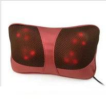 frete grátis carro cervical dispositivo de massagem descanso da massagem cintura vehienlar dispositivo de massagem pescoço travesseiro portátil electrodomésticos(China (Mainland))