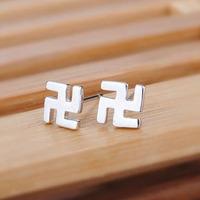 925 sterling silver earring jewelry fashion silver stud earrings for women wholesale