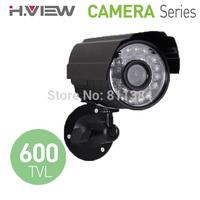"1/4"" CMOS 600TVL IR Day and Night Security Weatherproof Surveillance Outdoor CCTV Camera with Axis Bracket"