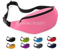 Hot Seller! Men Women Jogging Waist Pack Outdoor Sports Waist Packs Travel Hiking Cycling Bags Wallet Purse L Capacity Free Shp