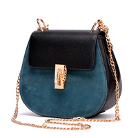 HOT !! The latest arrival brand handbags  High quality women bag  Women's Messenger Bag Shoulder Bag PU Leather ladies bag chain