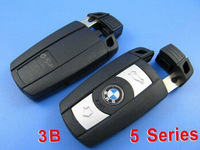 Brand New Replacement Shell Remote Key Keyless Entry Case Fob For B-MW 1 3 5 6 Series X5 X6 M5 M6 With Uncut Blade