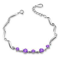 925 sterling silver bracelets for women wholesale fashion silver bracelet jewelry
