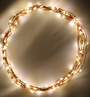 LED copper wire string Light  LED Christmas lights string Copper lamp series of  waterproof 10M 100LEDs DC12