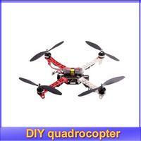 HOT! DIY F450 quadrocopter suit (F450 Frame+1000kv motor+30A esc + KK Flight Control +1045 propeller + charger + transmiter
