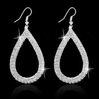 New Design Vintage Water Drop Earrings Gold Plated SWA Element Austrian Crystal Earrings For women  wedding Jewelry  MD1383
