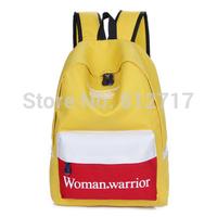 C428 New Vintage Woman Warrior Backpack Fashion Shoulder Bag Canvas Backpack Multi-Color Leisure Travel Bags Unisex PC Backpacks