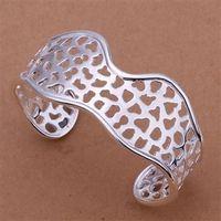 B176 925 sterling silver bangle bracelet, 925 silver fashion jewelry Bangle /apkajgra axjajoqa