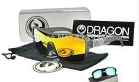 Free Shi[pping 3pcs New Dragon Sunglass wayfarer Men retro Eyewear Sports Cycling SunGlasses women lady fashion sunglass uv400