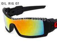 1pair New Fashion Outdoor sport Eyewear men's fashion Sunglasses oil rig sunglasses,Bicycle Sport Sun glasses uv400